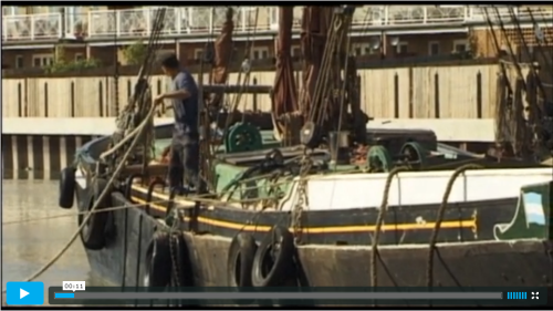 Standard Quay Faversham Simon Evans film from happier times