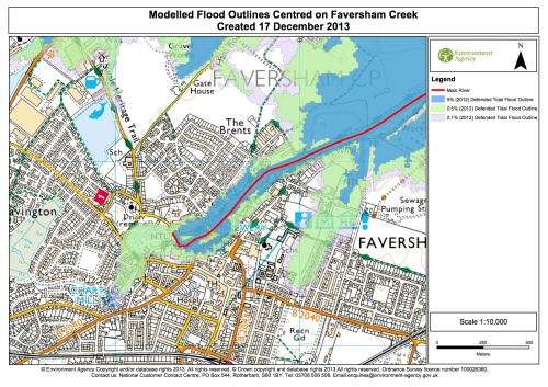 Fav Creek Flood Map 17Dec13
