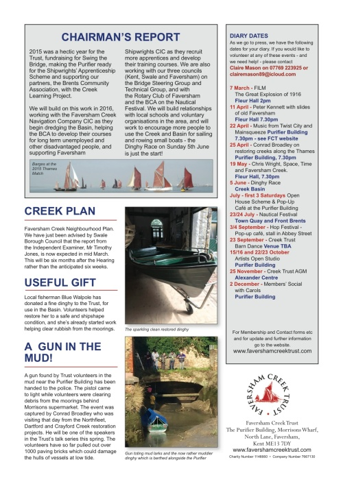 NEWSLETTER p2 10 MARCH 2016