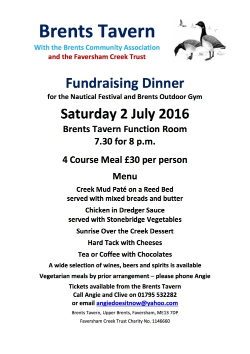 Brents Dinner 2016 Poster
